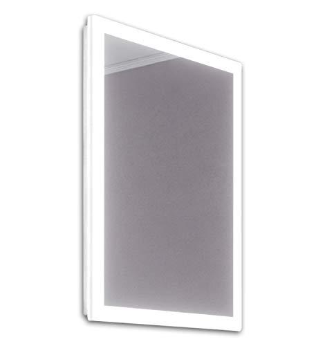 DIAMOND X COLLECTION Cara Slimline Edge LED Bathroom Mirror with Demister Pad -