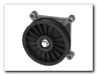 Motormite A/C Compressor Bypass Pulley for 2005-96 GM Large Sedans, 1992-87 Chevrolet Trucks S-Series (34196) (88 A/c Bypass Pulley)