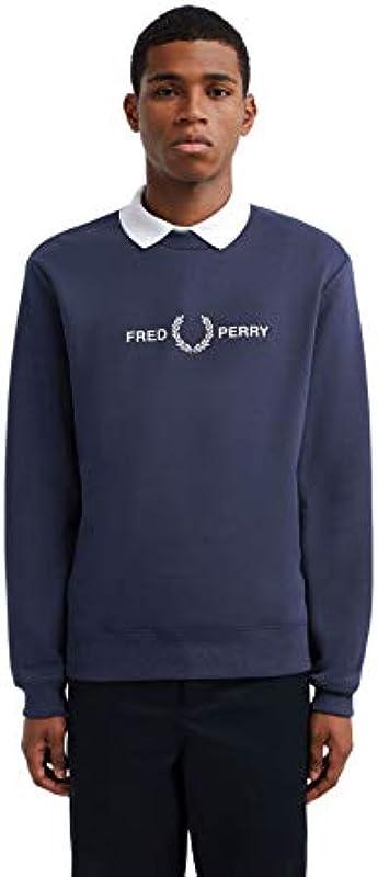 Fred Perry Graphic Pulower męski: Sport & Freizeit