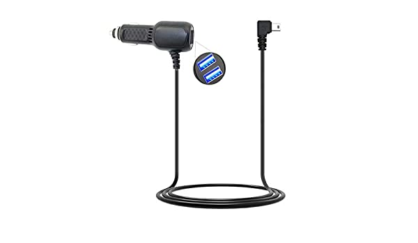 Car Charger Auto DC Power Supply Adapter For Garmin Oregon 450 450t Handheld GPS