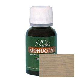 Rubio Monocoat Oil Plus 2C-A Sample Wood Stain Sky Grey 20ml