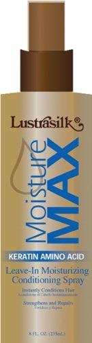 (Lustrasilk Lustrasilk moisture max keratin amino acid leave-in creme conditioner, 8 fl oz, 8.0)