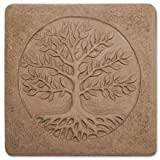 Cheap Garden Molds X-TREE8053 Tree of Life Stepping Stone Mold – Pack of 2