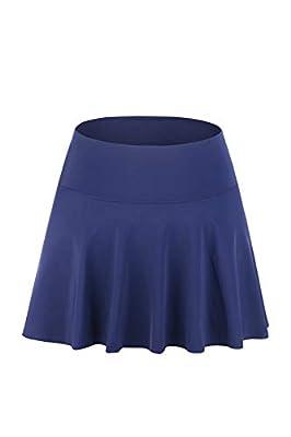 JINXUEER Women's Plus Size Swim Skirt High Waisted Swimsuit Bottoms Swimwear Board paired Bikini Tankinis