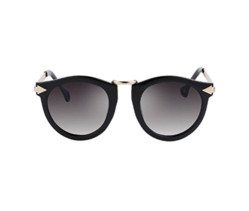 Tansle Brands Sunglasses For Womens ABS Frame With Double Arrow In Cool Shaped Eyewear For ()