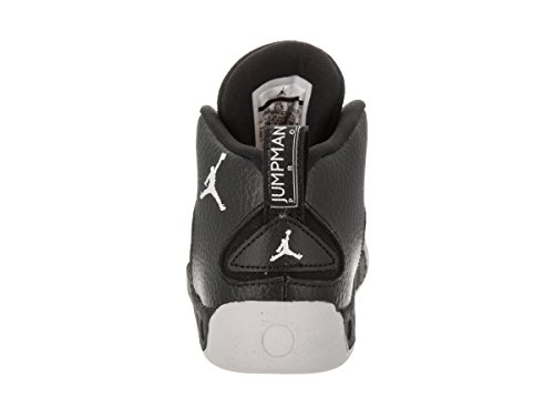 Toddlers Nike White Black Grey Jordan Shoe Wolf Jumpman Pro Jordan BT Basketball faqwCT5