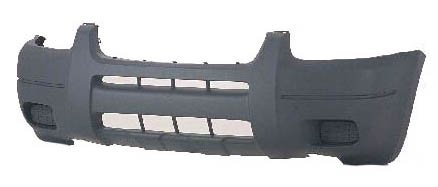 Ford Escape 01-04 Bumper Cover Front Xlt Platinum w/o Wheel Molding New (2001 Ford Escape Xlt)
