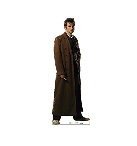 (Advanced Graphics Tenth Doctor David Tennant Life Size Cardboard Cutout Standup - BBC's Doctor Who)