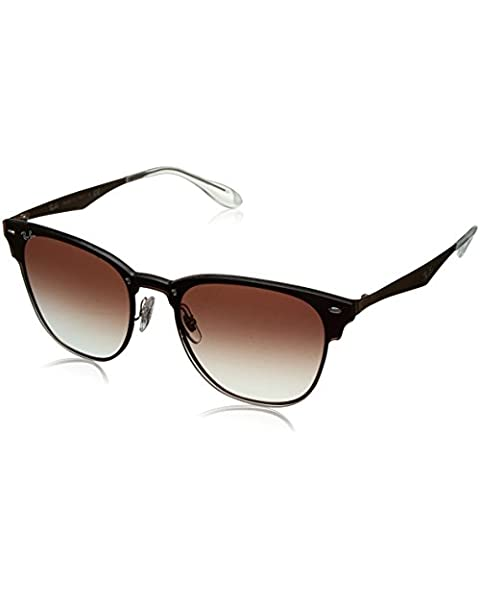 70209644bf Ray-Ban - RB3576N (Blaze Clubmaster) - Brushed Copper Frame-Clear Gradient
