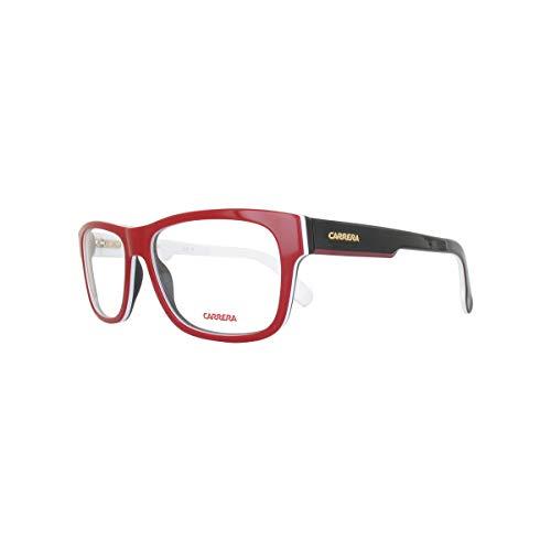 Montura Gafas Para De Hombre Negro Rojo 54 Carrera fwqdBEd