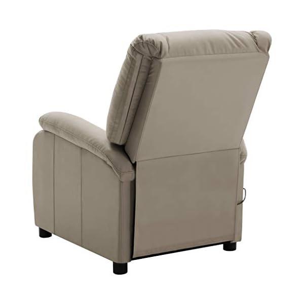 vidaXL Fauteuil de Massage Fauteuil de Relaxation Inclinable Electrique Salon Salle de Séjour Maison Intérieur…