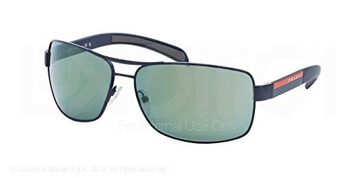 blue demi shiny prada sport (linea rossa) ps54is 太阳镜太阳眼镜