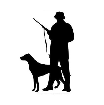 Autoaufkleber Aufkleber Fensteraufkleber Jagd jagd papier jäger wild jagd jagd papier wild jagd hund jäger schwarz CarBTSticker