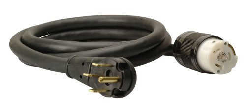 Coleman Cable 01834 Power Distribution Generator Extension Cord 50