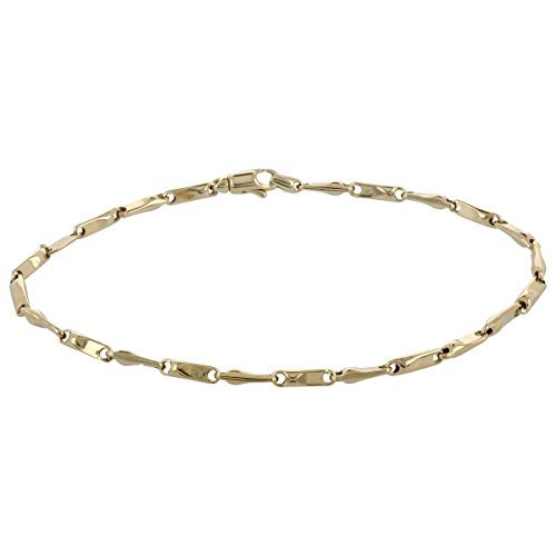 14kt yellow gold chain bracelet - Gioiello Italiano ()