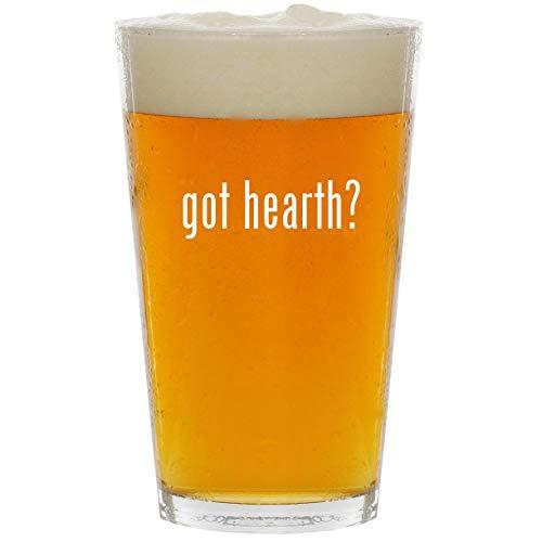 got hearth? - Glass 16oz Beer Pint
