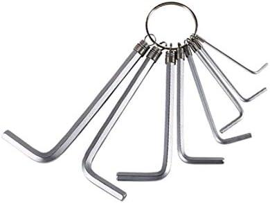 バイク修理のための六角形のキーセットのメートル六角形のキーの専門のスパナー