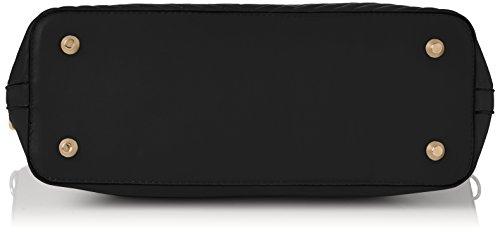 Swanky V Stripe Black Ella Swans Noir Bag Cabas Tote PEqrEz