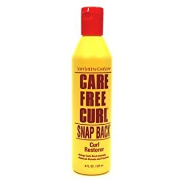 Care Free Curl Snap Back Curl Restorer 8 Ounce 235ml 6 Pack