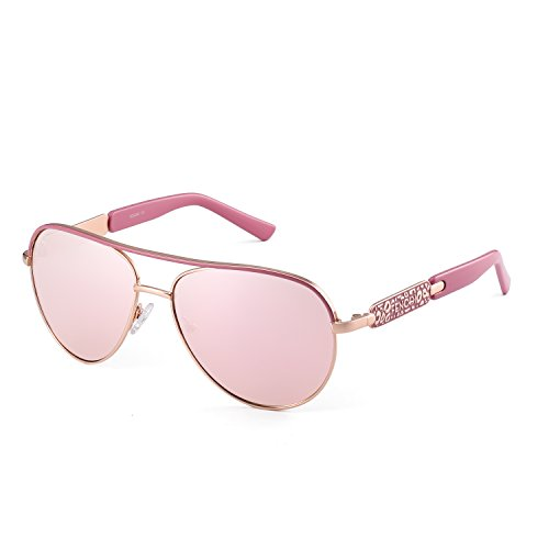 Classic Aviator Small Face Sunglasses for Women Metal Frame Driving Fashion 5 Colors Sun Glasses 5014