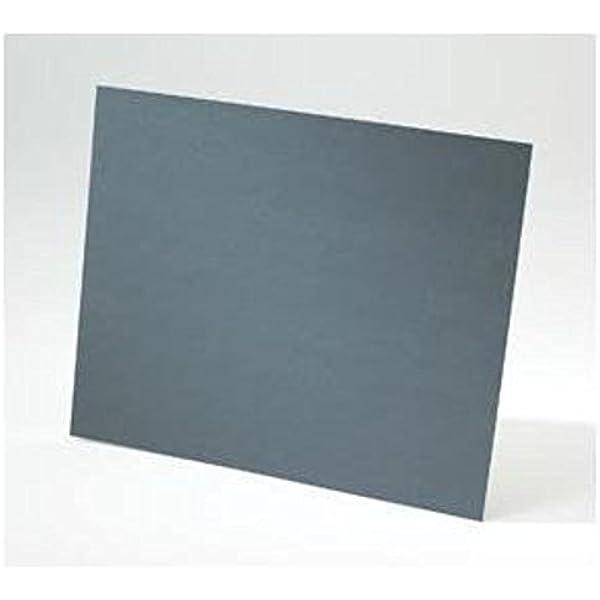 "50 PC. BOX NORTON 9/"" X 11/"" BLACK ICE SANDPAPER 600 GRIT"