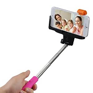 selfie stick monopod handheld extendable shutter iphone samsung remote bluetooth. Black Bedroom Furniture Sets. Home Design Ideas
