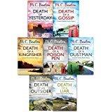 Hamish Macbeth Murder Mystery Series 1 M.C. Beaton Collection 7 Books Set