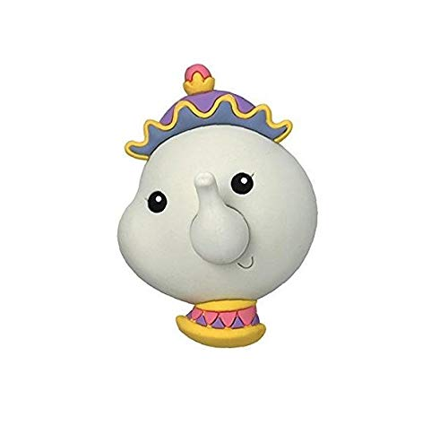 Llavero La Bella y la Bestia 3D Mrs BRIC potts Tetera Disney ...