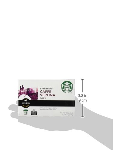 Starbucks Caffe Verona, K-Cup Portion Pack for Keurig K-Cup Brewers, 24 K-Cups (Pack of 2) by Starbucks (Image #3)