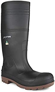 Acton, Function CSA ESR (A4142-21) | Black & Brick | Waterproof PVC Boots | CSA & ESR | Adjustable Hei