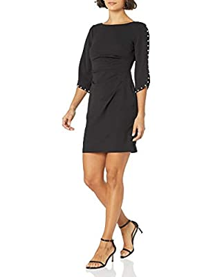 Jessica Howard Women's Side Tucked Sheath