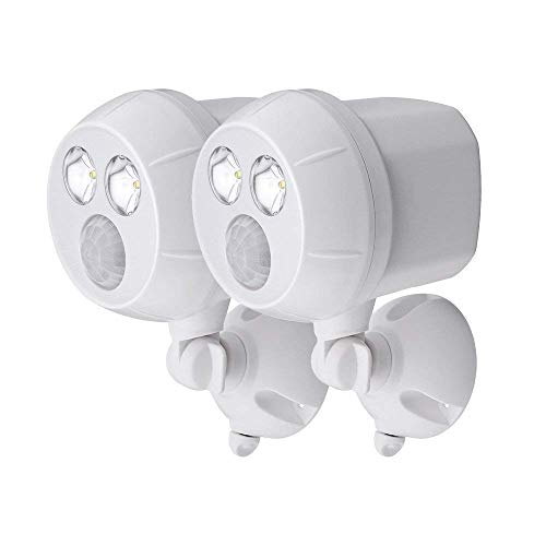 NetBright MBN391 Wireless Networked Battery Motion Activated Spot Light 2 Pk (White) by Mr. Beams (Image #5)