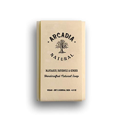 (Mandarin, Patchouli & Ginger) Natural Soap (Mandarin Moisturizing Cleanser)