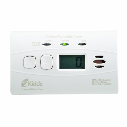 Kidde Lithium Battery Monoxide Digital