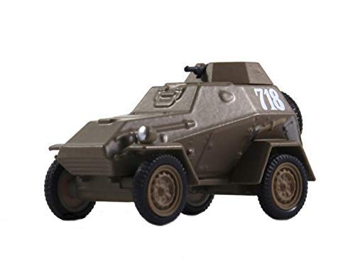 Russian Tanks BA-64 Soviet Armoured Scout Car 1942 Year 1/72 Scale Diecast Model World War II ()