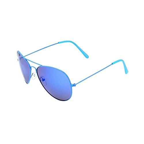 Piranha Neon Aviator Sunglasses, - Aviator Neon Sunglasses