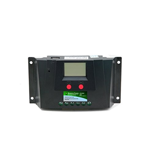 V, 20A Universal Solar Charge Controller (SC-122420JUD) (12vdc Integrated Solar Power Systems)