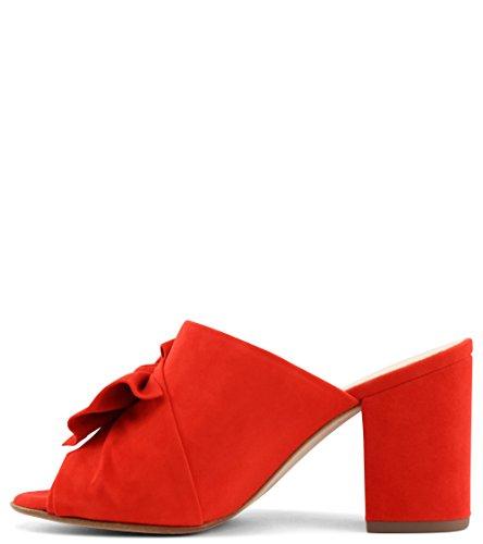 Kaiser Rouge Élégant Anilia Red Coral en Sandales Corail Chic Peter 0OdF0A