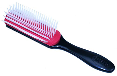 Denman Classic Styling Brush 7 Rows - D3 - Hair Brush for Blow-Drying & Styling - Detangling, Separating, Shaping & Defining Curls for Women from Denman