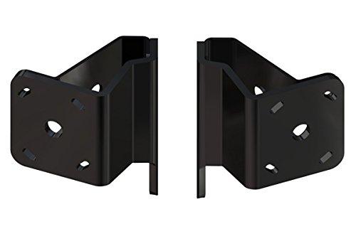 Dual Braced Plate Kit S-2-2 BLACK ()