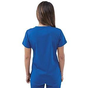 Adar Pro Scrubs for Women – Sweetheart V-Neck Scrub Top