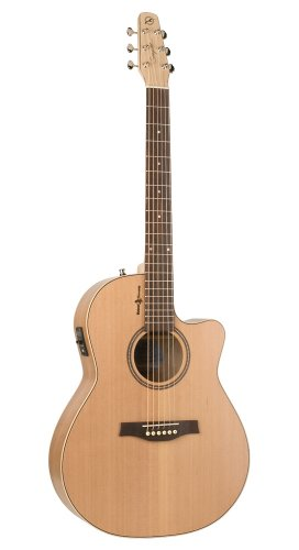 Seagull 036424 Heart of Wild Cherry CW Folk - Guitar Gull Cutaway Sea
