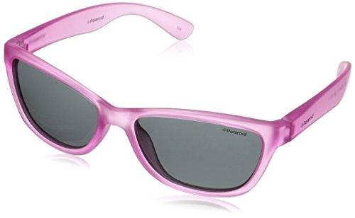 Polaroid Sunglasses P0422S Polarized Wayfarer Sunglasses, Pink, 51 mm