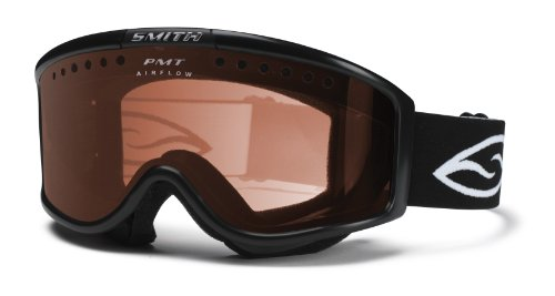 Smith Monashee OTG Airflow Goggle (RC36, Black), Outdoor Stuffs