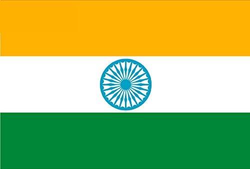 Gran Bandera de India 150 x 90 cm Satén Durobol Flag: Amazon.es: Deportes y aire libre