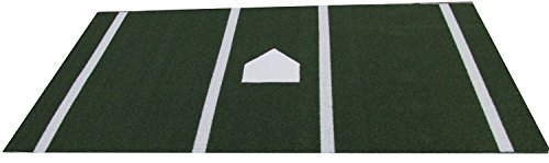 Pro Ball Baseball / Softball Hitting Mat Green 6' X 12' by All Turf Mats