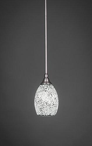 Toltec Lighting 23-BN-4165 Stem Mini Pendant with Hang Straight Swivel with 5