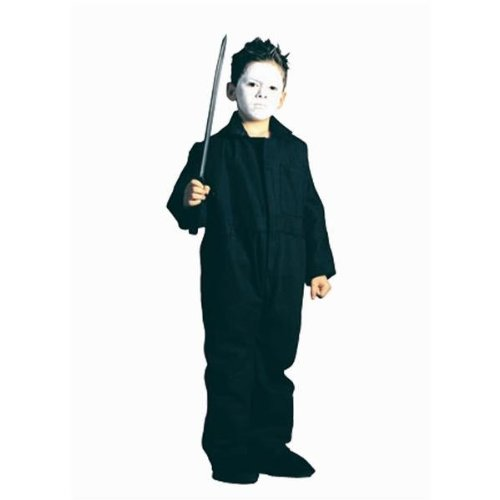 Mike Myers Costumes (RG Costumes Coveralls Costume, Child Small/Size 4-6)