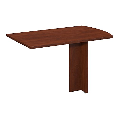 Bush Business Furniture Series C Elite 48W x 30D Peninsula Return in Hansen Cherry