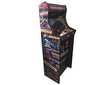 sin mínimo Roboticaencasa Roboticaencasa Roboticaencasa Máquina Arcade Lowboy Retro, máquina recreativa -Tamaño Real- Diseño Videosonic  elige tu favorito
